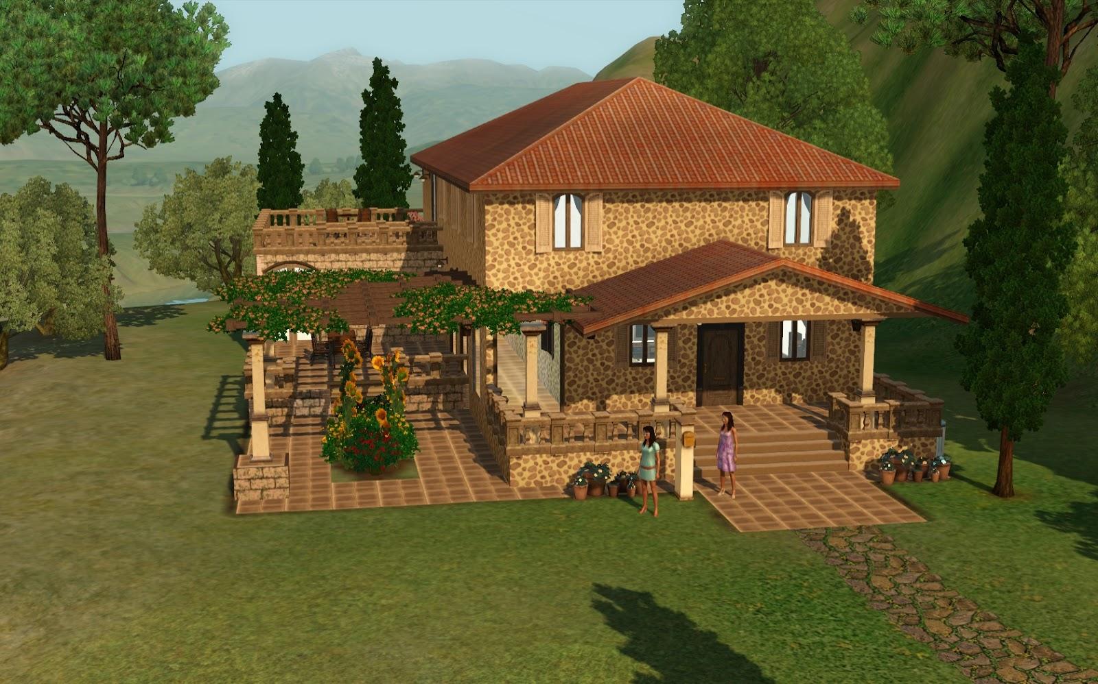 Summer's Little Sims 3 Garden: Monte Vista List of Houses