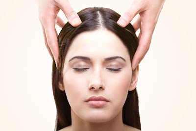 Massage your Scalp to Regrowth of Hair