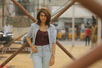 Shraddha Das in a Lovely Brown Top and Denim jeans ~ Exclusive Unseen Beauty HD Pics 009.JPG
