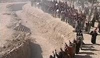 Hendek savaşında kazılmış hendek