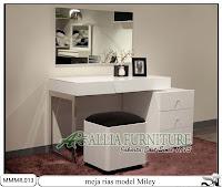 Meja rias modern minimalis model Miley