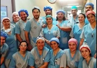 Una inédita cirugía que marca el gran avance de la medicina local y el grado de capacitación de sus profesionales.