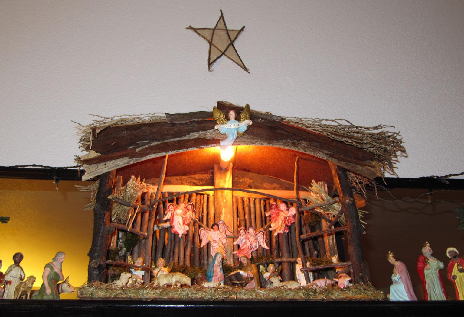 Creche How To Make A Nativity Le