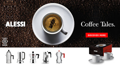 Alessi Stove-top Espresso Makers