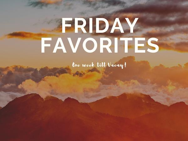 Friday Favorites -MIA again