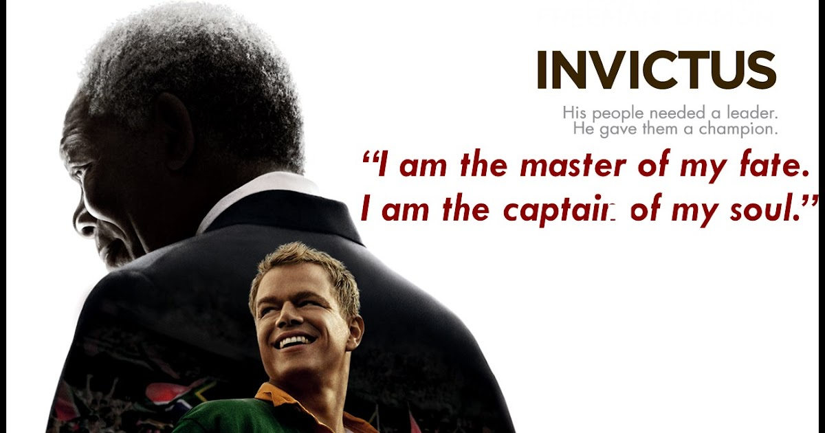I Am The Law Movie Quote: Movie Quotes And Dialogues: Invictus Movie Quotes