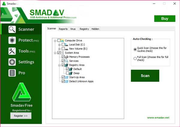 تحميل برنامج سماداف انتي فايروس