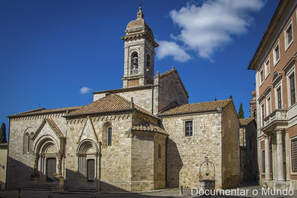 San Quirico d'Orcia, Collegiata dei Santi Quirico e Giulitta, Toscana, Itália
