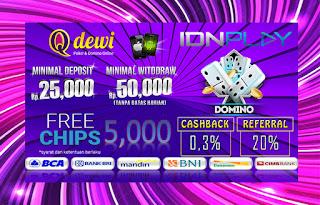 Judi Domino Online Berhadiah Server IDN Play QDewi.net