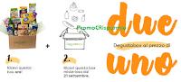Logo Due Degustabox al prezzo di una e spedizione gratuita !