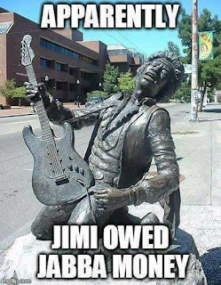 Jimi Hendrix Owed Jabba The Hutt Some Money