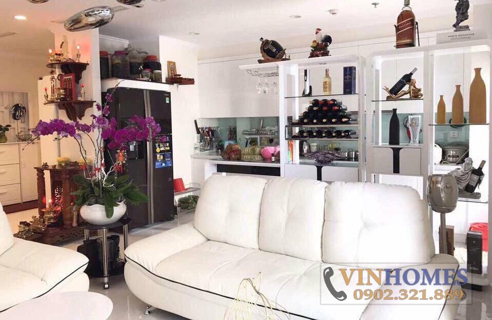 thuê căn hộ Vinhomes Bình Thạnh tòa C2 tầng 30 - sofa phòng khách