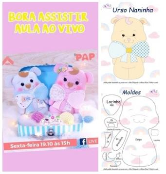 Naninha Amigurumi - Menino - Urso no Elo7   Leila Amigurumi (EB3416)   359x341