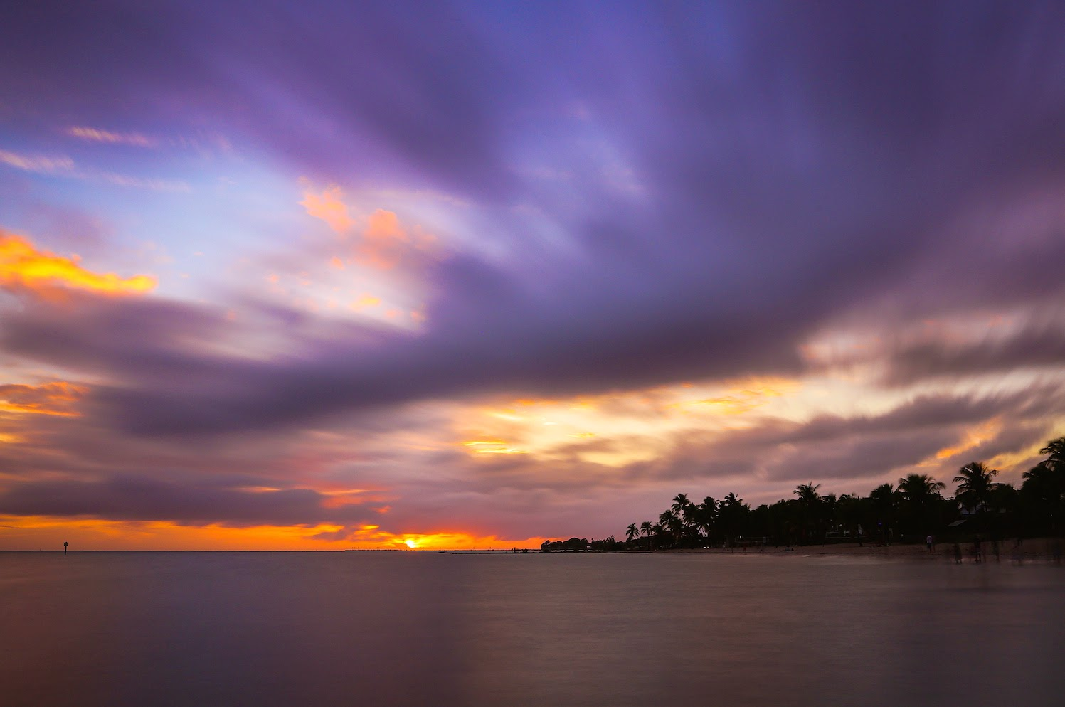Il tramonto a Key West, by Joe Parks