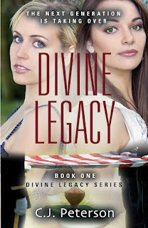 divine legacy, CJ Peterson, christian fiction