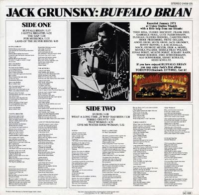 Jack Grunsky - Toronto