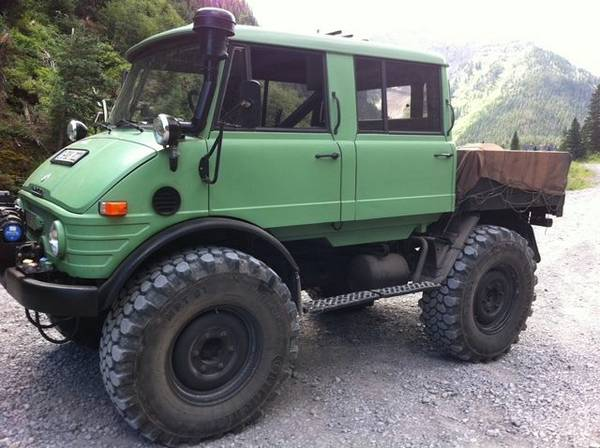 1975 Mercedes Benz Unimog Doka For Sale 4x4 Cars