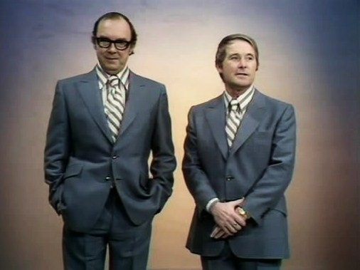 morecambe and wise meet the beatles