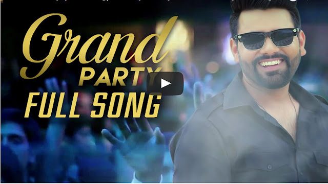 Punjabi Song Grand Party Lyrics Pavvy Dhanjal