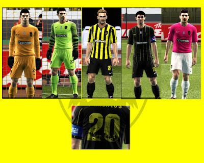 AEK ATHENS FC GDB FOLDER 2016/17