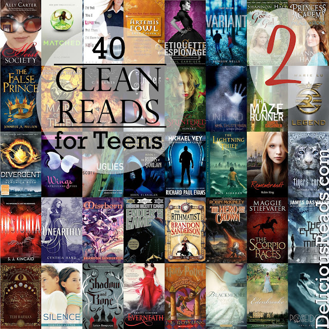 Clean reads for teens
