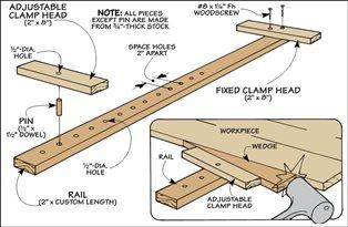 Hobby Carpinter 237 A Tema Tipos De Prensas O Sargentos