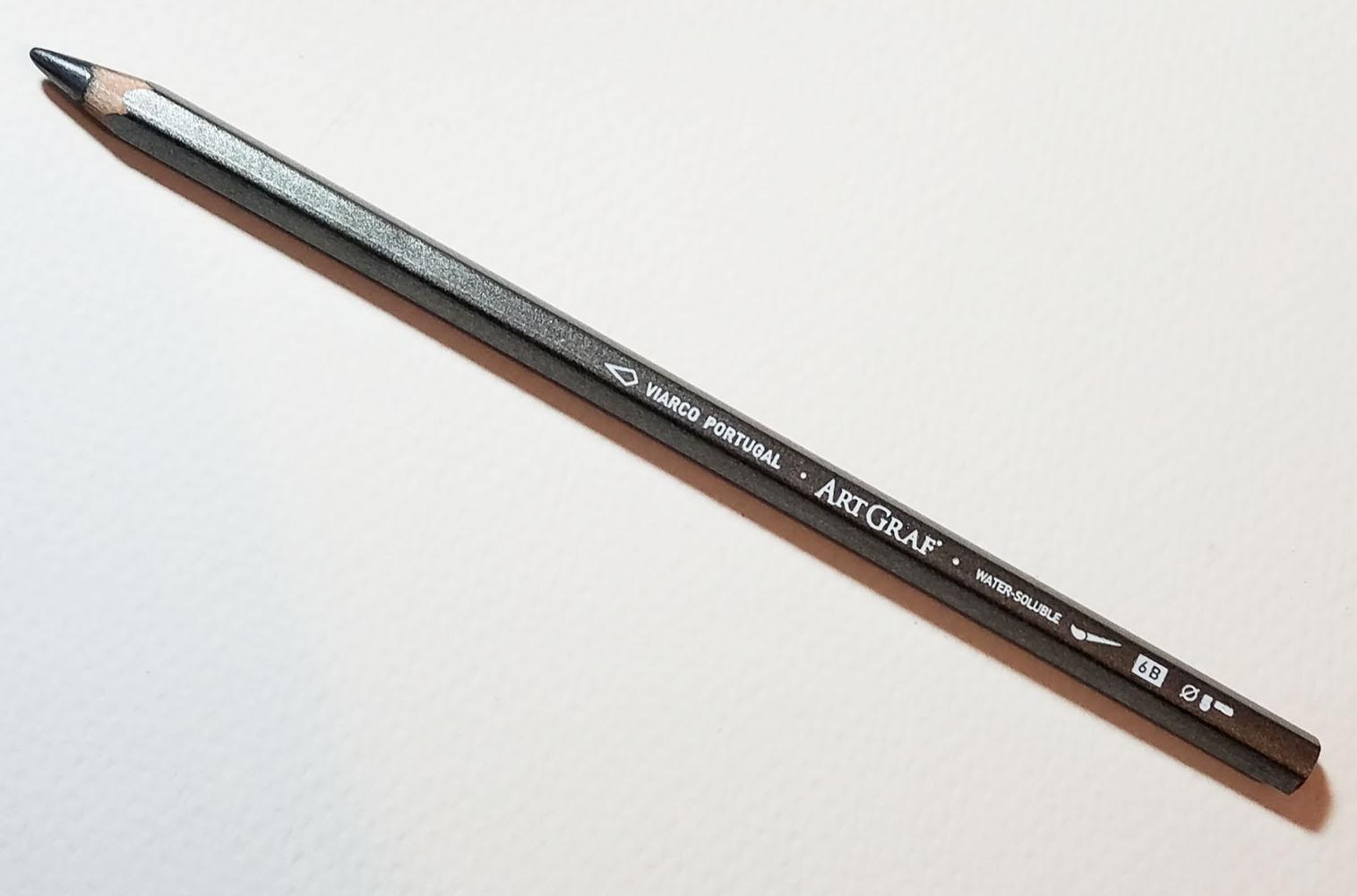 ArtGraf Watersoluble Graphite Pencils 2B 6B