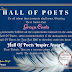 HALL OF POETS INSPIRE AWARD, JUNE-JUL 2016