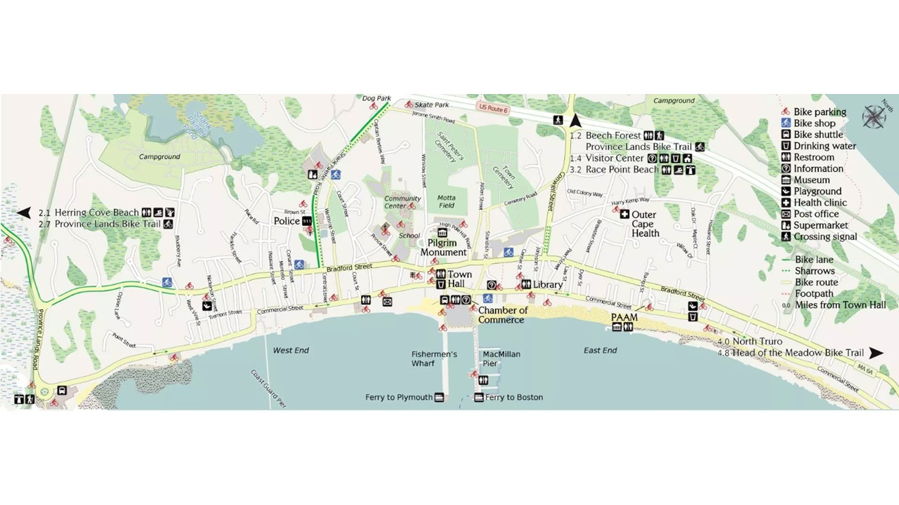 Bike Cape Cod Rail Trail and Bicycling Information