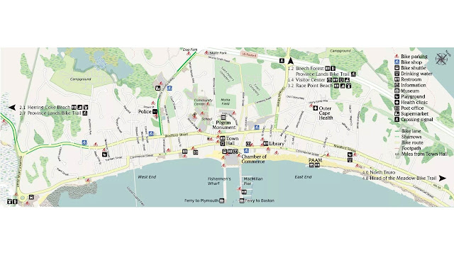 Provincetown Bicycle Map