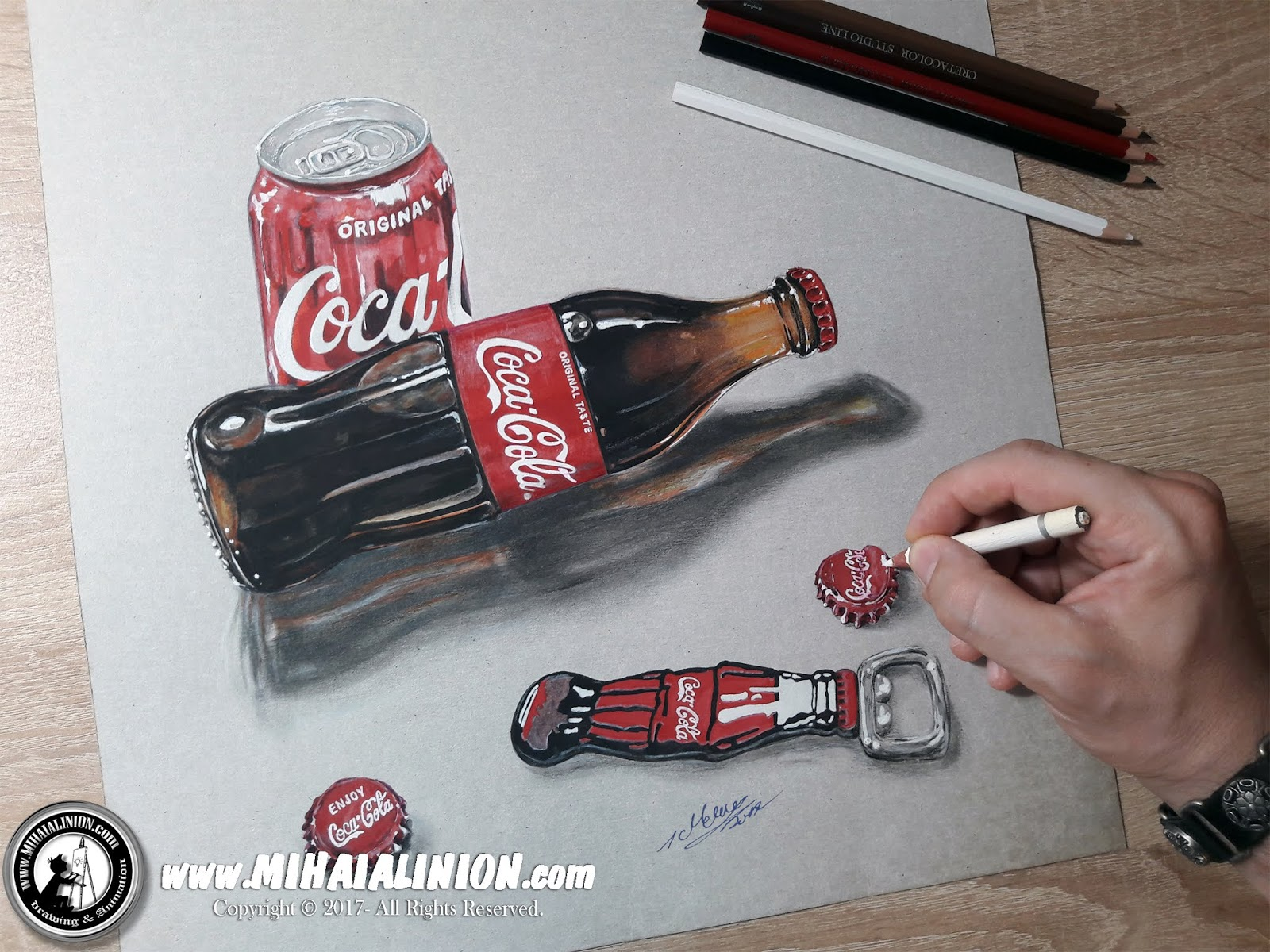 Drawing Coca Cola, Drawing Cola, Drawing Cola Bottle, Coca Cola Lime, object illustration, coca cola can, coca cola secret recipe, painting, How to draw coca cola, How to draw a coca cola can, How to draw a coca cola bottle, coca cola pencil drawing, Always Coca Cola, Beverages, Bottle, Coca Cola, Cola Illustration, John Pemberton, Product Design, Realistic 3D Art, Realistic Drawing, Taste The Feeling, 2017 Realistic 3D Art, illustrations by mihai alin ion, MAI Comics, Mihai Alin Ion, art by mihai alin ion, how to draw, artselfie, drawing ideas, free drawing lessons, drawing tutorial, art, dessin, disegno, dibujo, drawing for kids, drawing, illustration, painting, design, realistic 3d art, coloured pencils, www.mihaialinion.com, 2018, pencil drawing, tempera, acrilics paint, marker, gouache painting, mixed media, comics, comic book, caricature, portrait, cum sa desenezi, caricaturi mihai alin ion, caricaturi si portrete  la comanda, eveniment caricaturi, caricaturi la nunta, caricaturi la botez, caricaturi la majorat, desene pe pereti, desene pentru copii, ilustratie carte, benzi desenate, caricaturi, portrete, comanda caricaturi