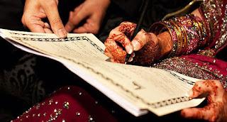 Khotbah Nikah yang Berbelok