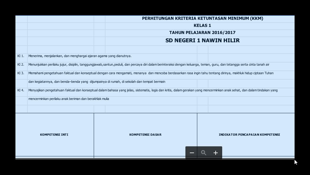 Download Aplikasi Hitung Kkm Kurikulum 2013 Otomatis Untuk