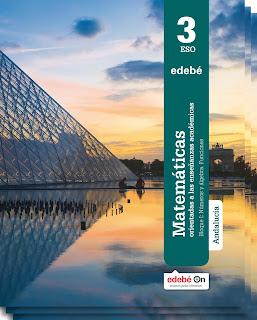 Libro Matemáticas Académicas 3º ESO Edebé Proyecto Edebé On (LOMCE)