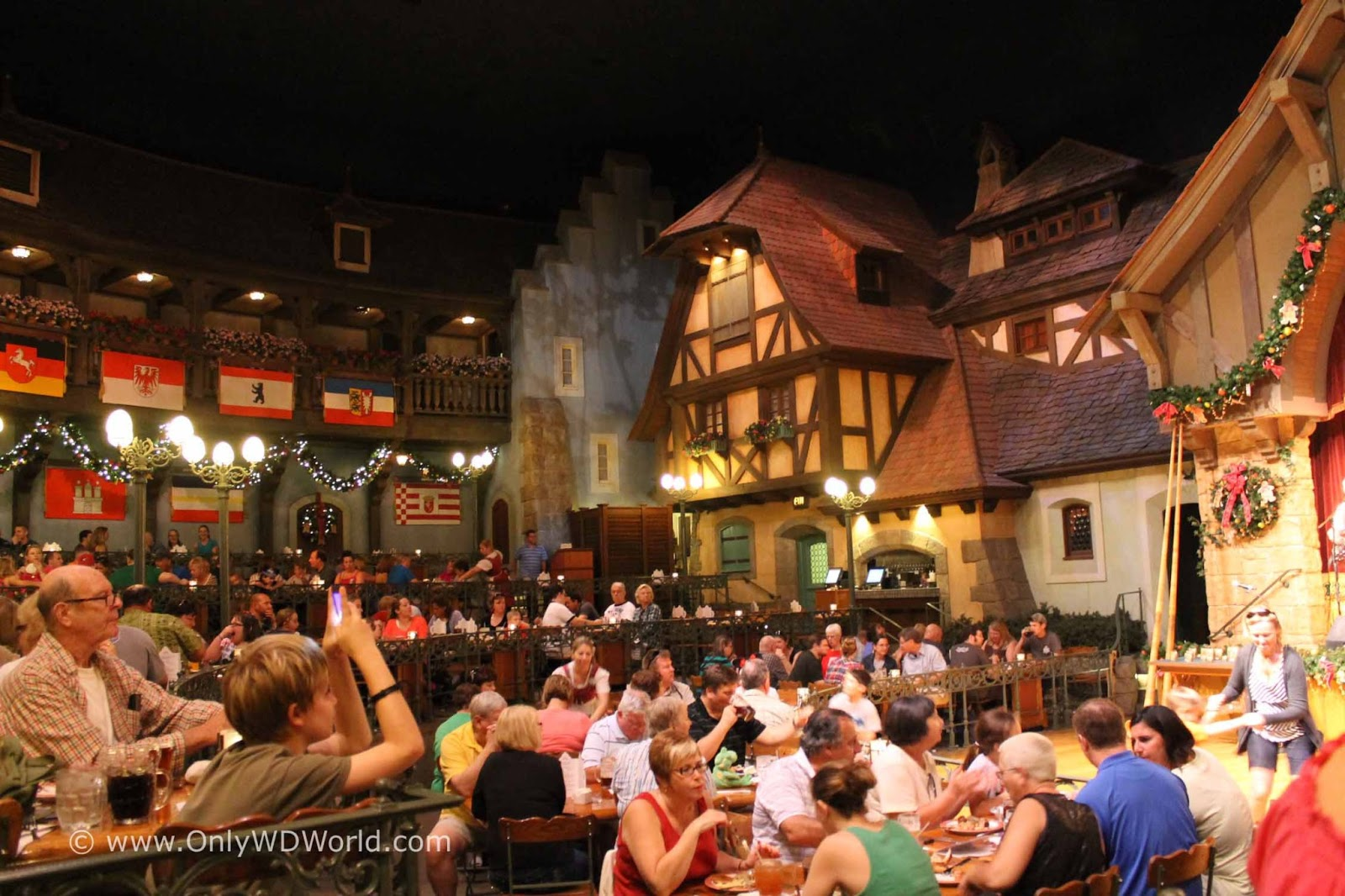 Disney World Dining Biergarten Restaurant