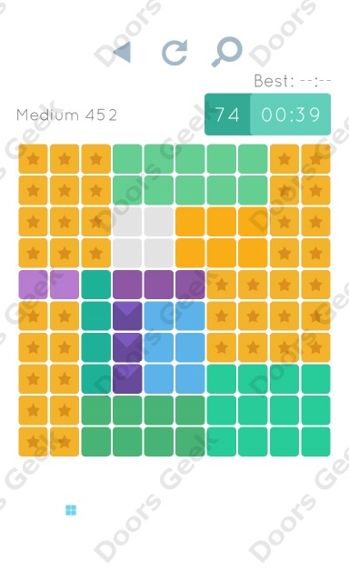 Cheats, Walkthrough for Blocks and Shapes Medium Level 452