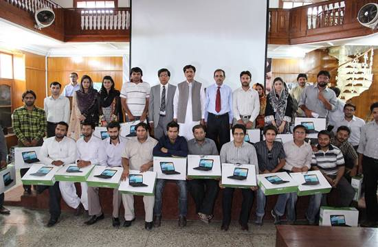 Free Laptop Distribution Ceremony at UVAS, Faisalabad (Punjab)