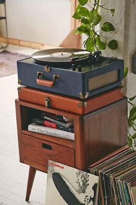 Decoração retrô e vintage