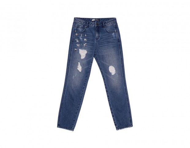 jeans strappati delavè