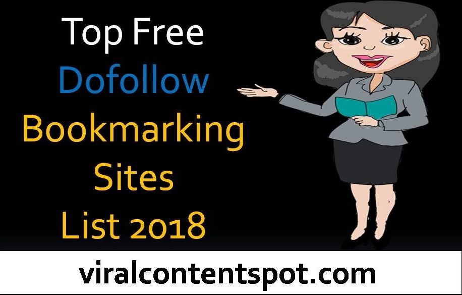 Top Free Dofollow Bookmarking Sites List 2018 - Viral