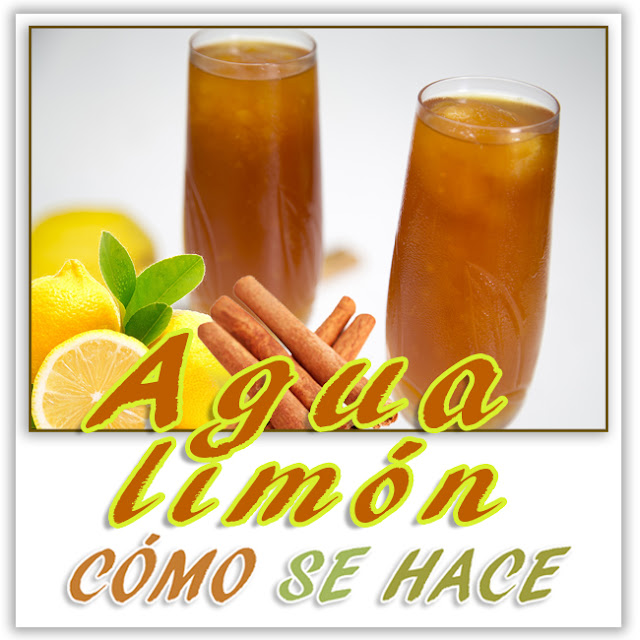 AGUA LIMÓN  - ...