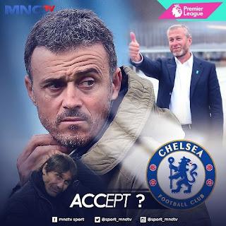 Luis Enrique Siap Gantikan Antonio Conte sebagai Pelatih Chelsea