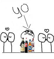 memes borrachos amor