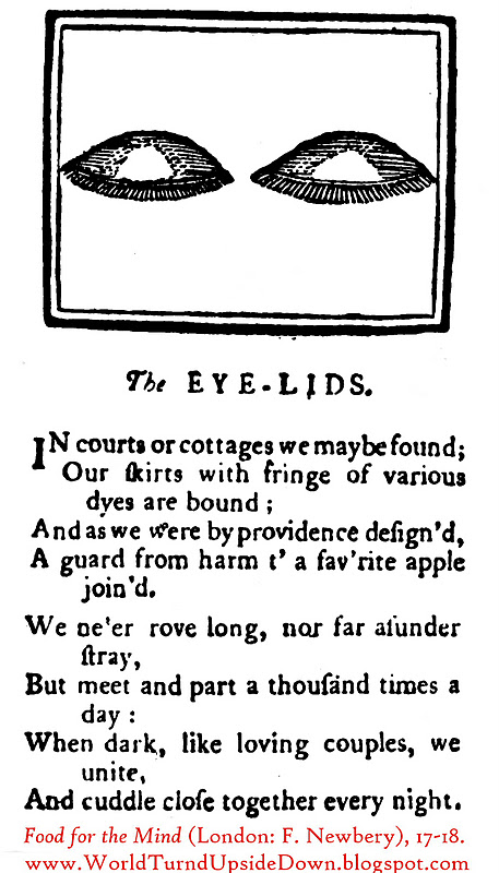 World Turn'd Upside Down: Riddles for Colonial Children