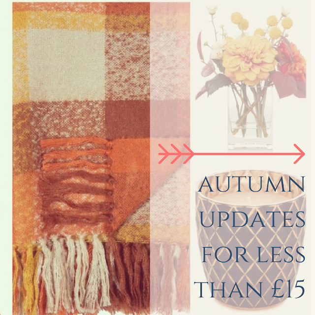 Autumn/Fall interiors for your home for under £15