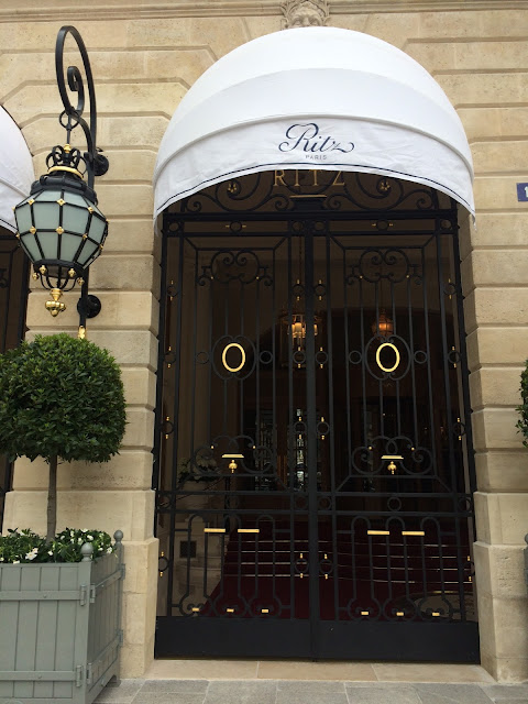 Ritz Paris entrance