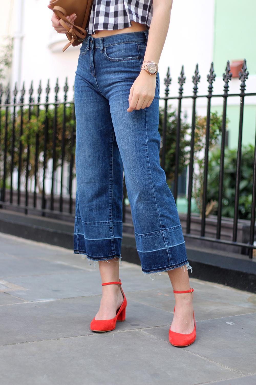 gingham spring style peexo fashion blogger
