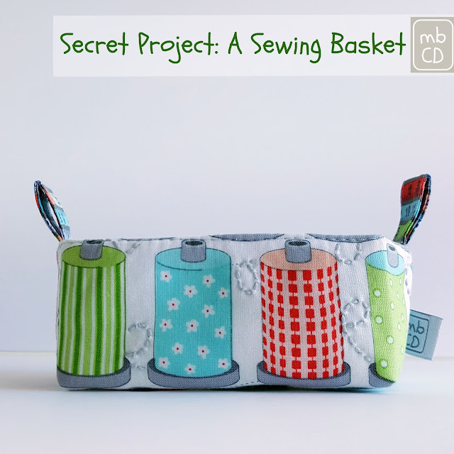 Sewing Basket by www.madebyChrissieD.com