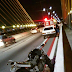 Acidente deixou ponte Newton Navarro congestionada