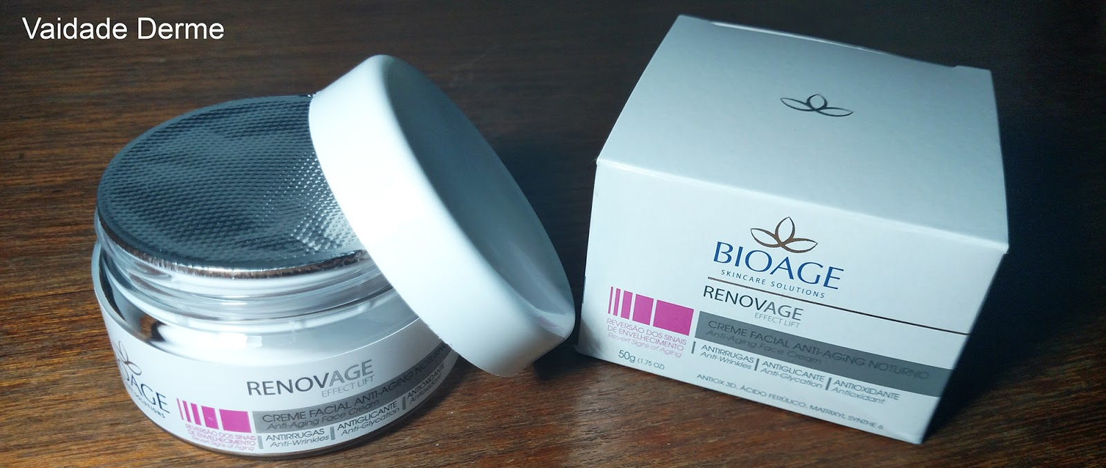 Bioage Renovage Effect Lift Creme Noturno